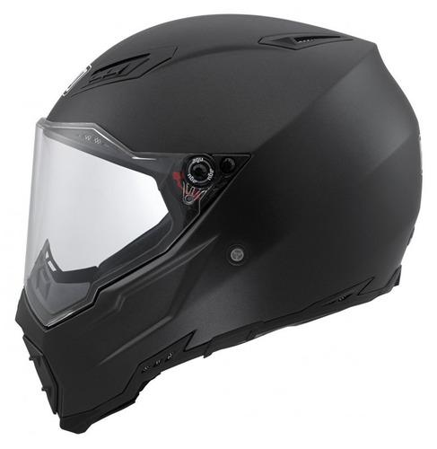 casco agv ax-8 evo naked dual deportivo negro mate 2xl