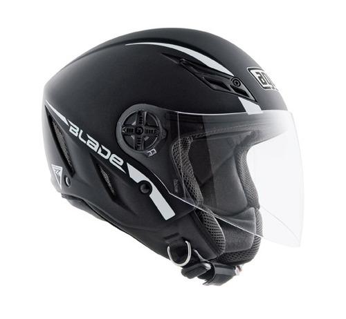 casco agv blade sólido negro xs