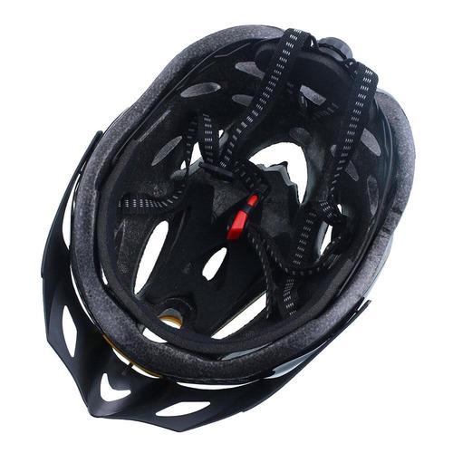 casco ajustable para bicicletas patines amarillo azul