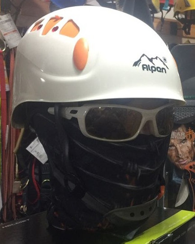 casco alpen para canopy parques de aventura escalada rapel