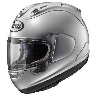 casco arai corsair x  completo de aluminio plata xl
