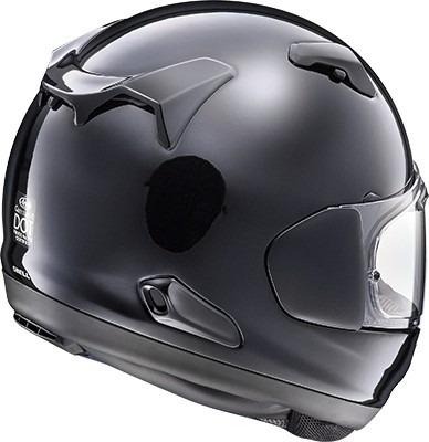 casco arai quantum x rostro completo negro perlado md