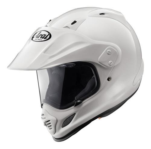 casco arai xd4 helmet (white, x-large)