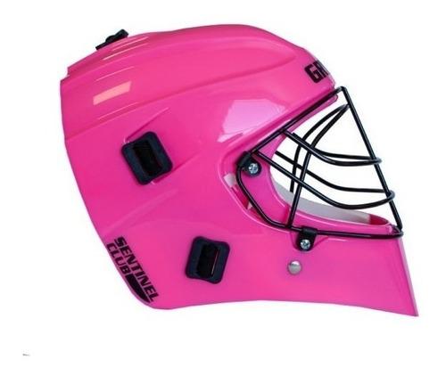 casco arquera hockey gryphon sentinel reja protector cabezal