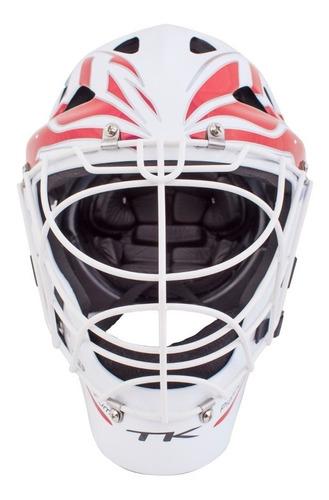 casco arquera hockey tk t1 arquero trilium 1 cabezal reja