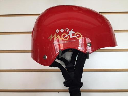 casco asia ajustable para skate, longboard, bmx, roller
