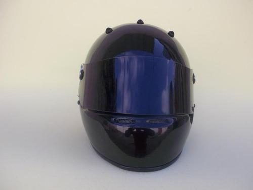 casco automovilismo competicion gp5 negro