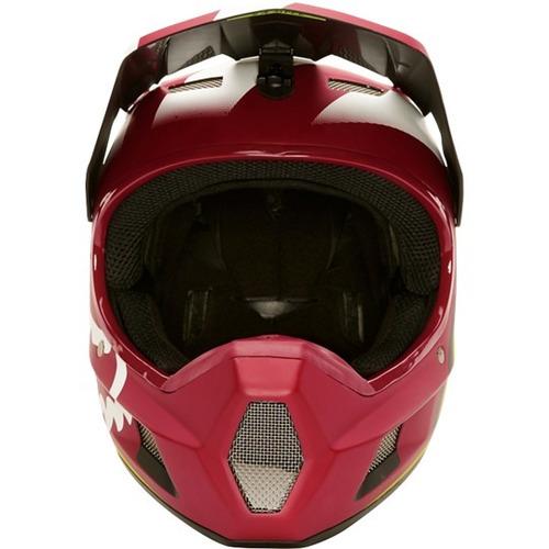 casco bici downhill mtb fox rampage comp creo solomototeam