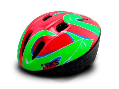 casco bicicleta ciclismo recreacional para niños bks