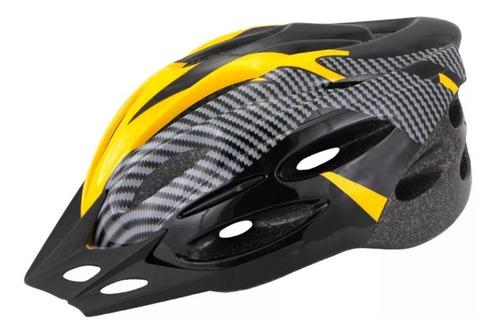 casco bicicleta con visera 18 vent. - envio gratis!
