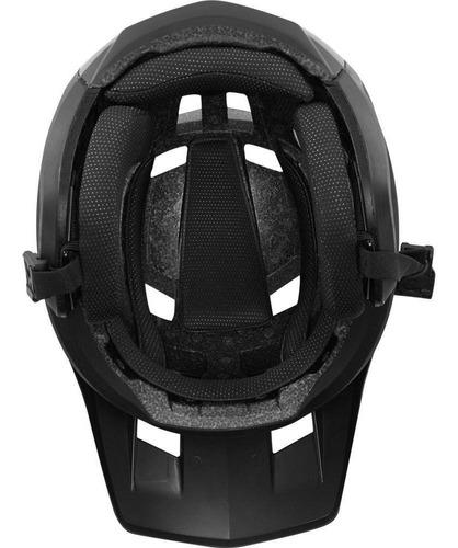 casco bicicleta dropframe negro fox