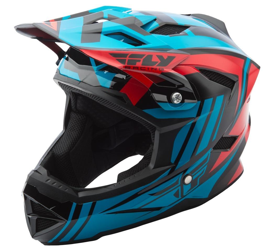 9777be0252386 casco bicicleta fly racing mtb default red teal talla l. Cargando zoom.