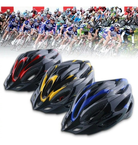 casco bicicleta mtb omega liviano ajustable unisex acolchado