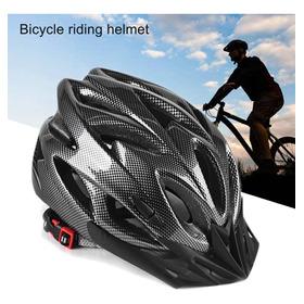 Casco Bicicleta Mtb Wolfbase Liviano Calidad Tipo Carbono