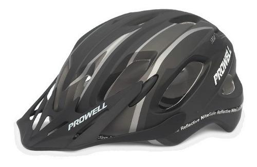 casco bicicleta prowell x-9 bertil black // bamo