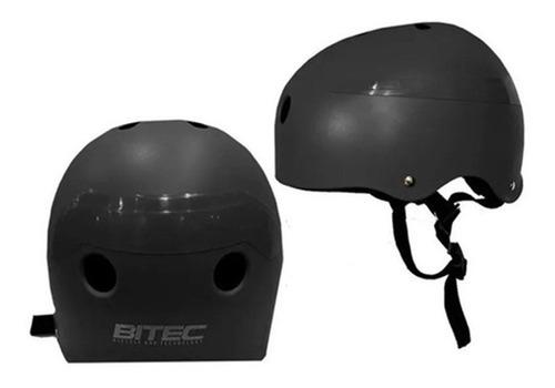 casco bitec proteccion infantil bicicleta skate rollers bici