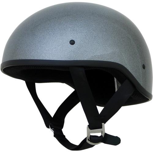 casco boina afx fx-200 slick sólido plomizo sm
