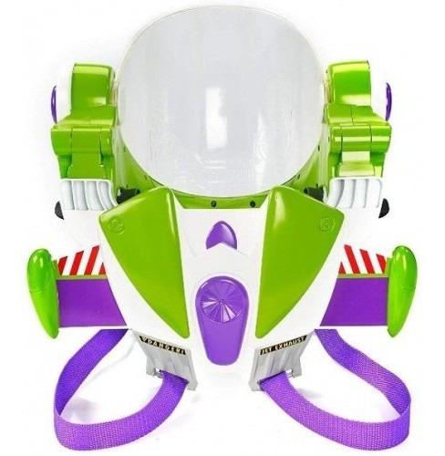 casco  buzz lightyear armadura original disney pixar