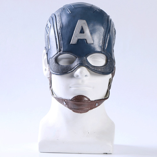 casco capitan america cosplay
