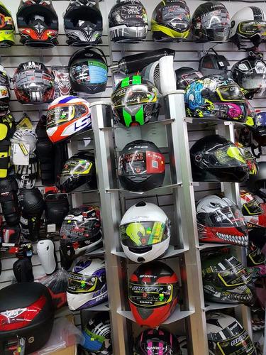 casco cerrado ls2 flutter ff352 + regalos rider one