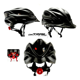 Casco Ciclismo Armor On Trail Bicicletas Ruta Mtb Luz Integr