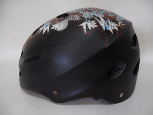 casco ciclista patines skate patineta joven 55-58cm d811