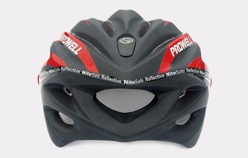 casco ciclista prowell reflectivo taiwan