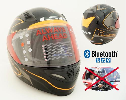casco con sistema integrado de altavoces/micrófono bluetooth