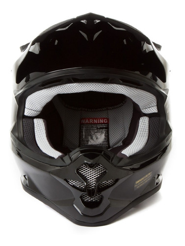 casco cross enduro shoei vfx-w negro importado