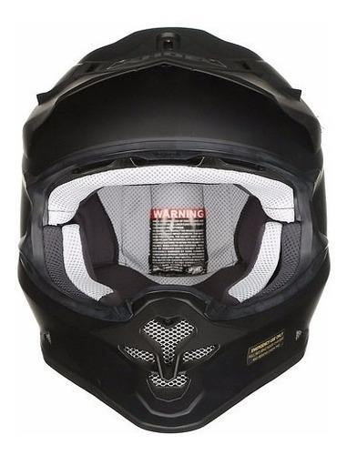 casco cross enduro shoei vfx-w negro mate importado