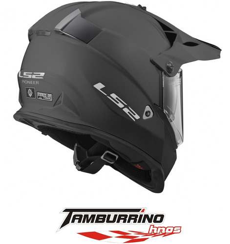 casco cross ls2