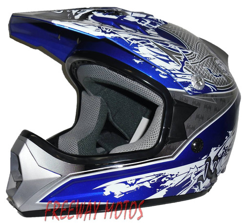 casco cross motos