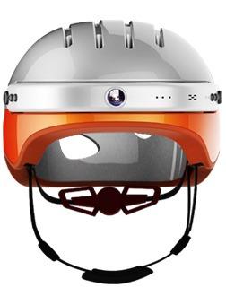 casco de bicicleta con cámara 2k | bluetooth y wifi incluido