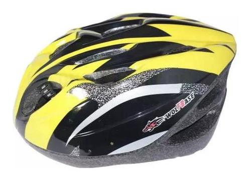 casco de bicicleta simple colores