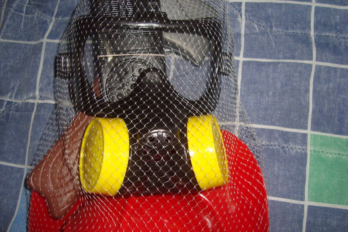 Con Casco Mascara De Antigas Bombero clFKT31J