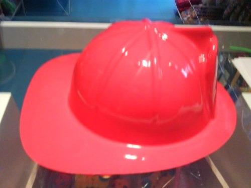 Casco De Bombero Gorro Sombrero De Plastico Disfraz Hallowee -   75 ... 8b161f81980