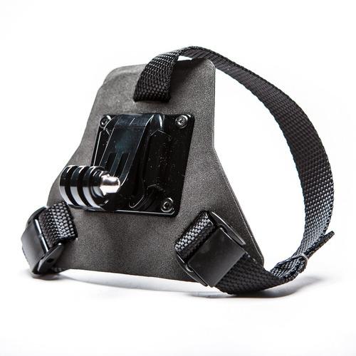 casco de cara completa chin mount para gopro
