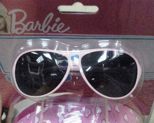 casco de ciclista barbie con lentes de sol para niñas