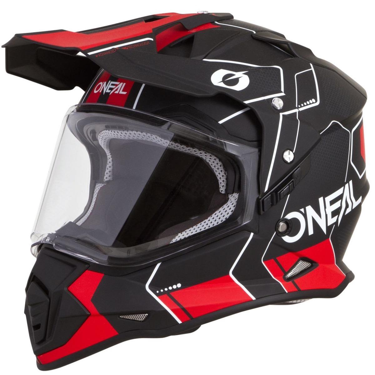 6e89ab85e2761 casco de cross oneal sierra 2 negro rojo m marelli. Cargando zoom.