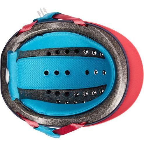 casco de equitación safety fouganza fh 120 italiano original