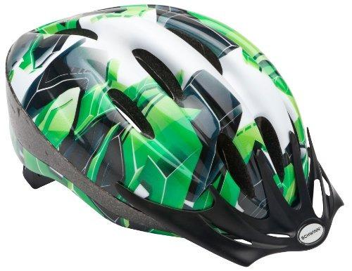 casco de intercepción juvenil schwinn, verde