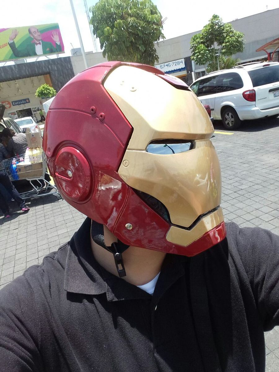Casco De Iron Man Para Moto - $ 1,550.00 en Mercado Libre