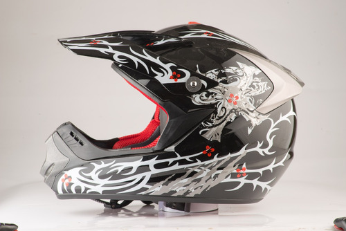 casco de moto cross rbk edge 13 original nuevo