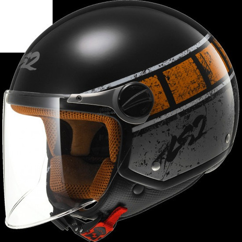 casco de moto ls2 rocket ii rook of560 negro