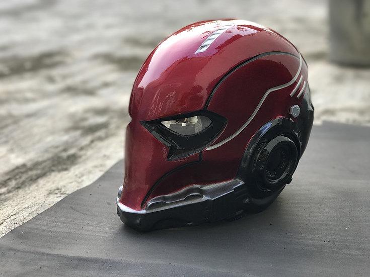 llega el más baratas ventas calientes Casco De Moto Personalizado Modelo Red Hood