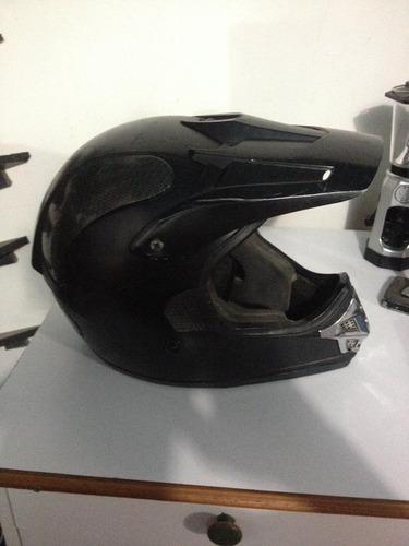 casco de moto tipo enduro talla m