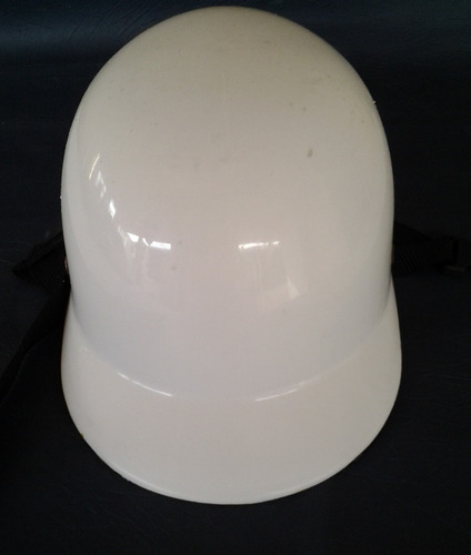 casco de motorizado c/ acolchonado interno talla m (18x24cm)