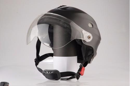casco de motos abierto skater edge 13 original nuevo