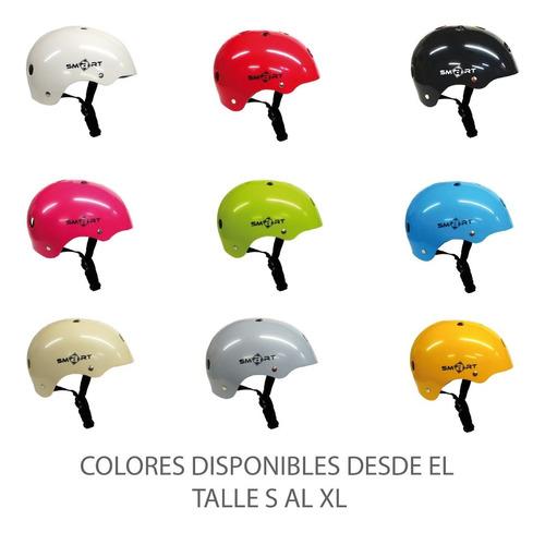 casco de proteccion smart niños skate roller bicicleta patin
