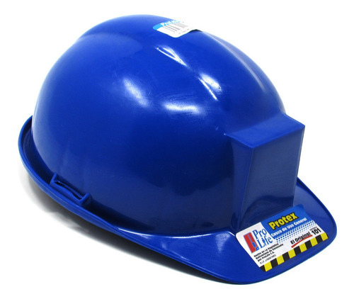 casco de seguridad azul marca prolife